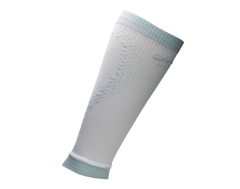 Zoot Ultra 2.0 CRx Calf Sleeve - White/Graphite (size 4 (large) only)