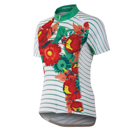Pearl Izumi Elite LTD Short Sleeve Jersey - Womens - Tropical Floral Print