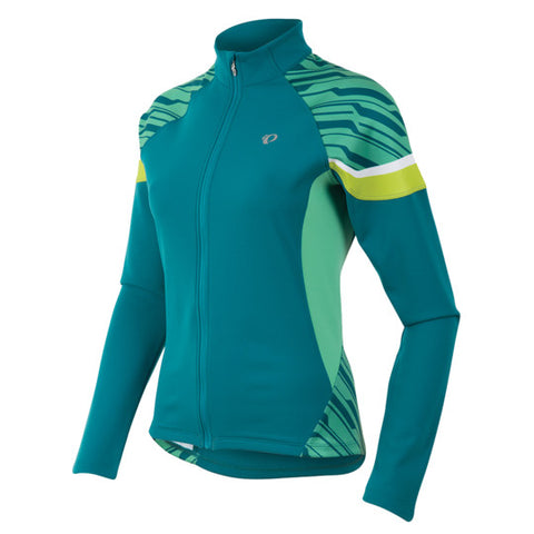 Pearl Izumi Womens Elite Thermal Cycling Jersey - Gumdrop