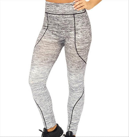 UW Dip Dye Full Length Tight - Black and Grey