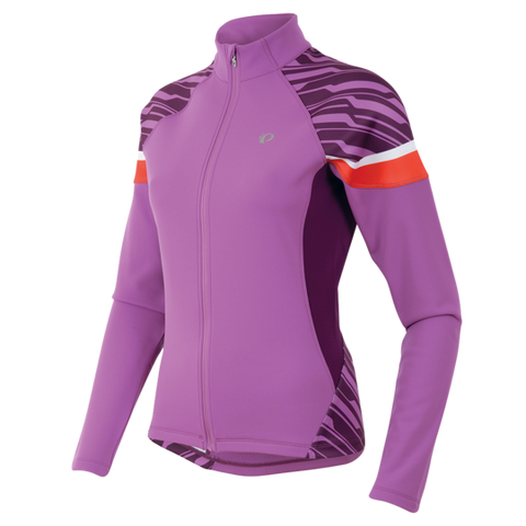 Pearl Izumi Womens Elite Thermal Cycling Jersey - Violet & Purple
