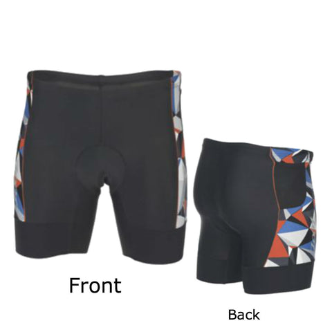 "Zoot Mens Performance Tri 7"" Short - Black & Vivid Blue Camo"
