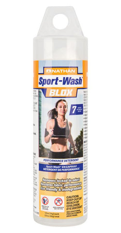 Nathan Sport Wash Blox - Detergent for Performance Fabrics