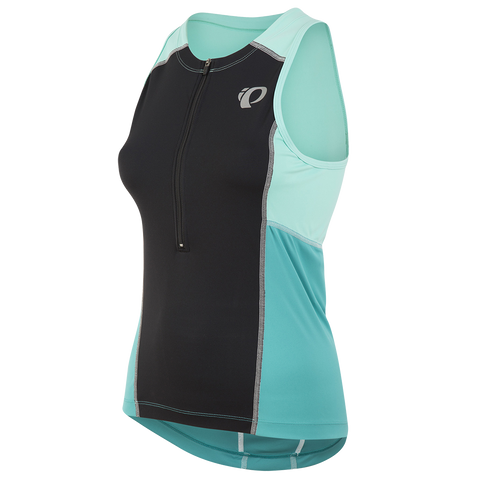 Pearl Izumi Select Triathlon Sleeveless Top - Womens - Black with Mint