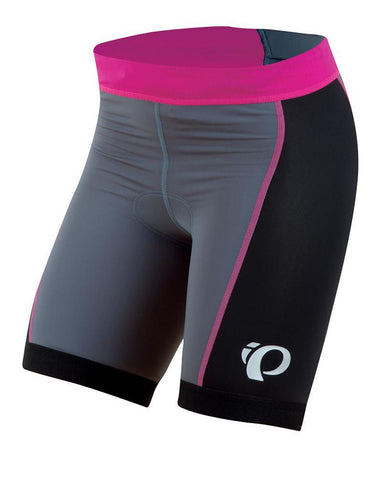 Pearl Izumi Select Triathlon Short - Womens - Black, Gray and Orchid