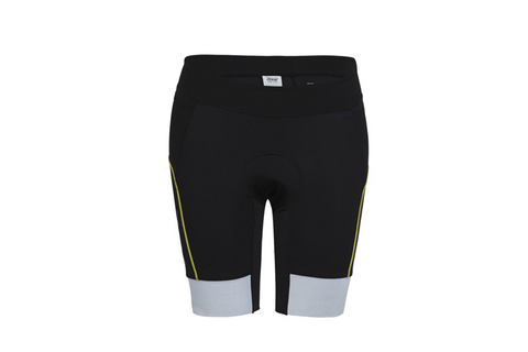 "Zoot Mens Ultra Tri 9"" Short - Black and Sub Atomic Yellow"