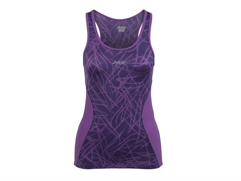 Zoot Women's Performance Tri BYOB Tank - Purple Haze