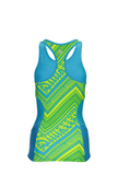 Zoot Womens Performance Triathlon Racerback Top - Tribal (Large only)