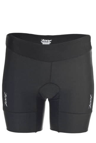 "Zoot Womens Active Tri 6"" Short - Black"