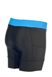 "Zoot Womens Active Tri 6"" Short - Ocean/Black"