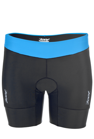 "Zoot Womens Active Tri 6"" Short - Ocean/Black (XL only)"