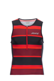 Zoot Mens Performance Tri Tank - Race Day Red