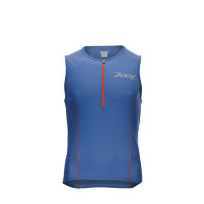 Zoot Men's Active Tri Mesh Tank - Vivid Blue - Med Only