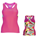 Zoot Womens Performance Triathlon Racerback Top - Kaleidescope (S and XL only)