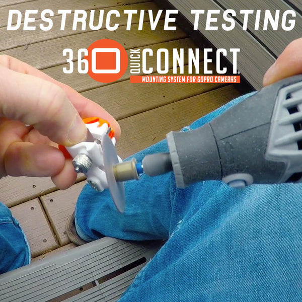 Destructive Testing 360 Quick Connect - The Best New GoPro Accessory