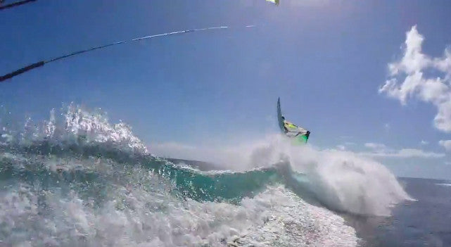 Kitesurfing and Windsurfing in Mauritius GoPro Video