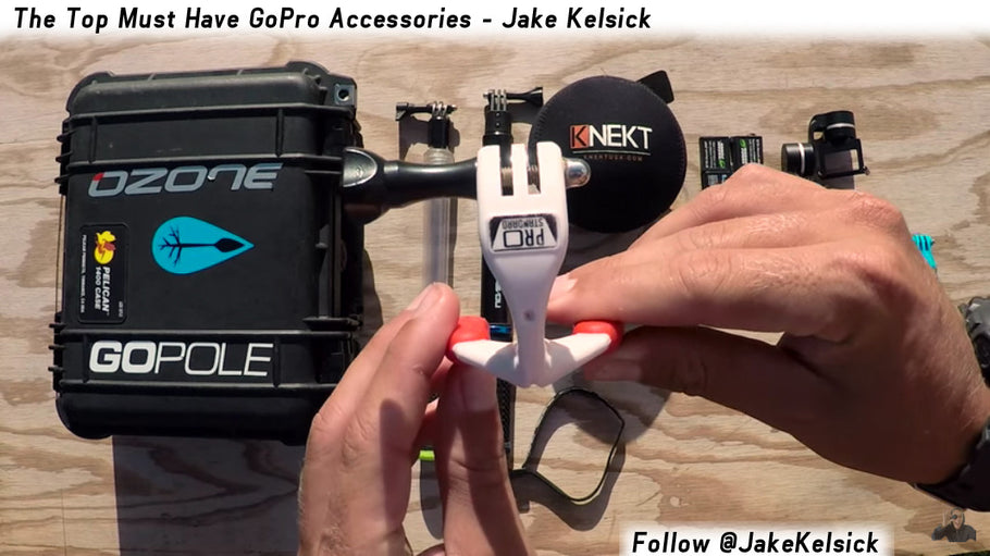 "Grill Mount named by IKSurf as one of the "" Top Must Have GoPro Accessories"""