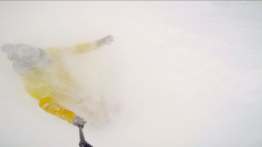 Powder Faceshots From New Angles with 360 Quick Connect GoPro Mounts