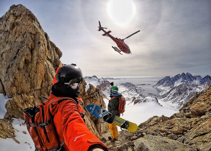 The Grill Mount in Greenland with Warren Miller Entertainment