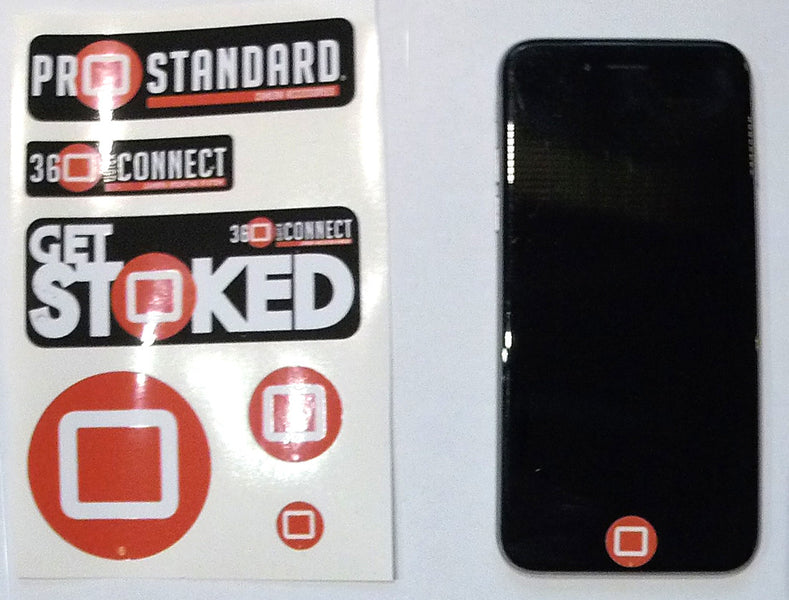Stickers Included With 360 Quick Connect GoPro Accessories