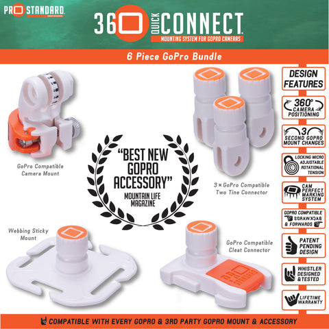 360 Quick Connect 6 Piece Bundle