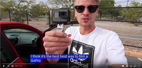 Fabian Doerig - The Grill Mount is the best way to film with a GoPro
