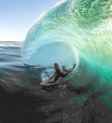 Pro Bodyboarder Glen Thurston uses the Pro Standard Grill Mount for is bodyboarding GoPro adventures