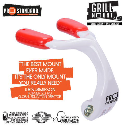 Grill Mount 2.0 The Best Mouth Mount For GoPro Just Got Even Better