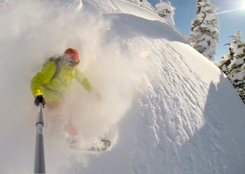 Ken Achenbach at Powder Mountain Catskiing