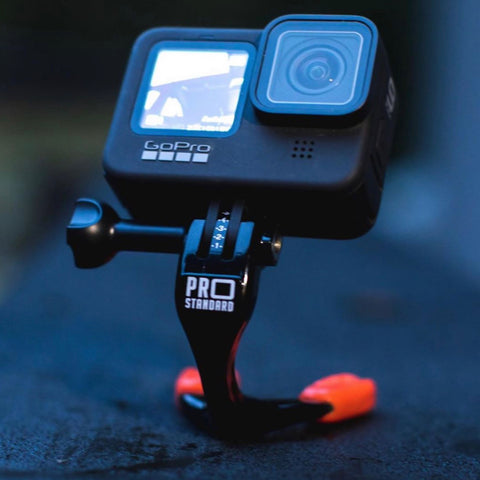 Pro Standard Grill Mount. The number one GoPro mouth mount. Shown with the GoPro Hero 9
