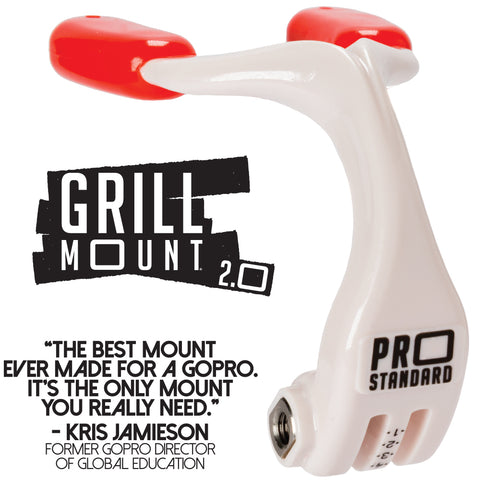 The Best GoPo mouth mount. The Pro Standard Grill Mount