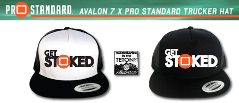 Get Stoked Avalon 7 Pro Standard Collab Trucker Hat