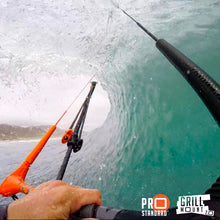 The Grill Mount is used by Keahi De Aboitiz and so many other GoPro athletes that rely on perfect POV.