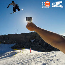 The Grill Mount GoPro Handgrip should be called the GoPro Everything Mount because it will live on your GoPro camera