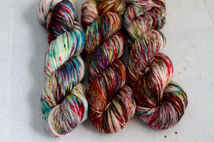 magnolia sock 'stained glass'