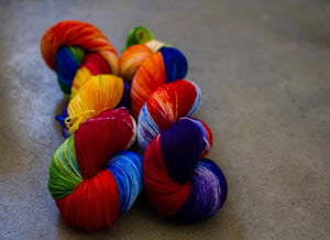 Smooth Sock 'rainbow'