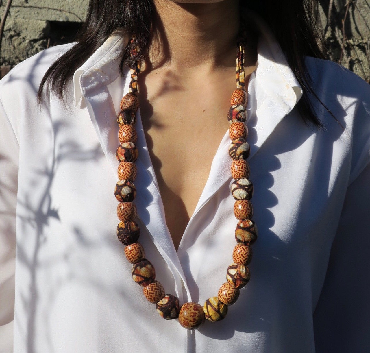 ~pop.up.shop~ kigamboni large beaded necklace
