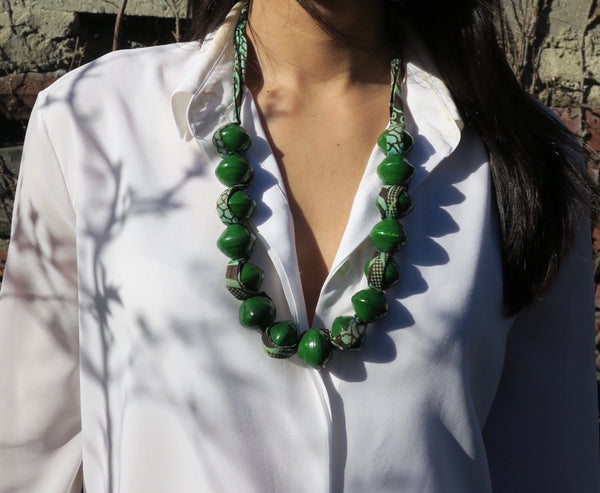 ~pop.up.shop~ kampala large beaded necklaces (multiple colors)