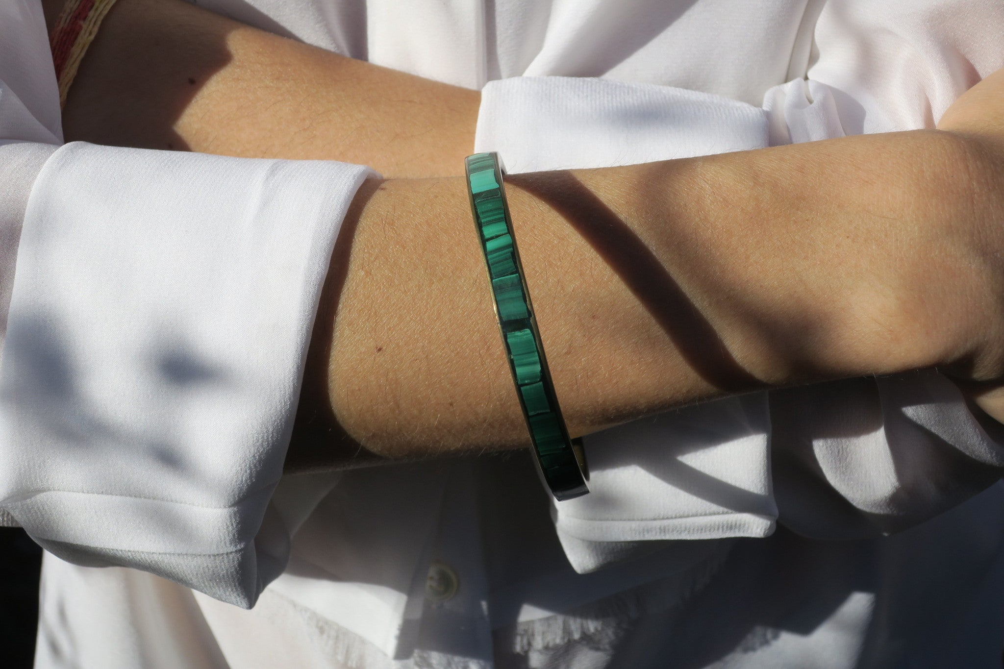 ~pop.up.shop~ zanzibar malachite bangle