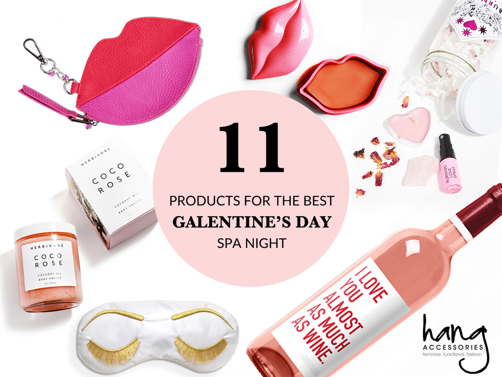 11 Products for the Best Galentine's Spa Night!