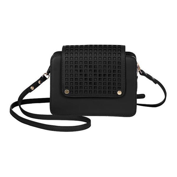 Zadie Black Crossbody Bag