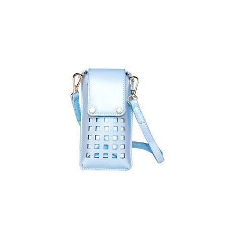 Zadie Light Blue Phone Crossbody