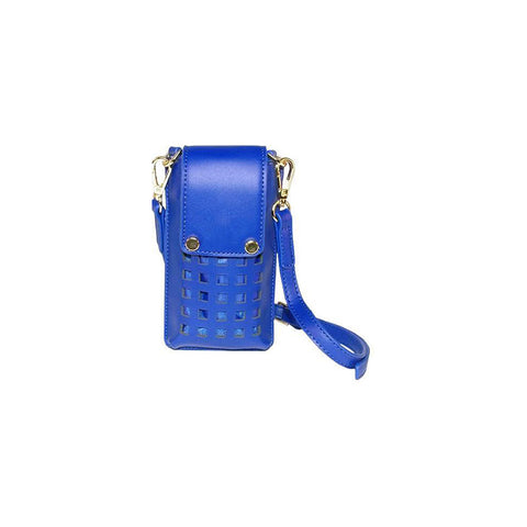 Zadie Blue Phone Crossbody