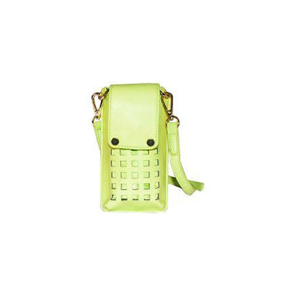 Zadie Yellow Green Phone Crossbody