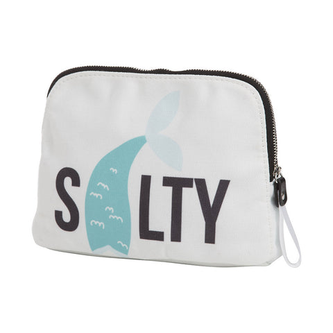 Canvas Salty Zipper Pouch