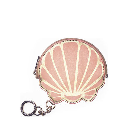 Shell Coin Purse Keychain
