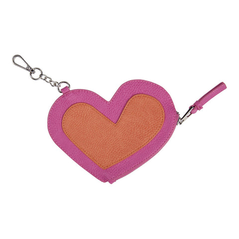 Heart Coin Purse Keychain