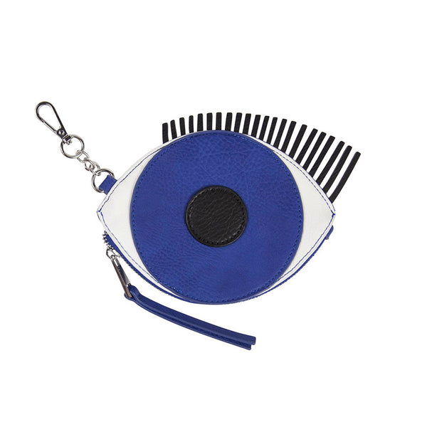 Eye Coin Purse Keychain