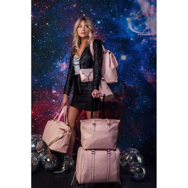 Celestial Moonstone Blush Duffle Bag