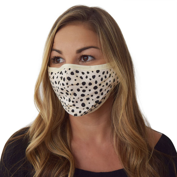 Adult Cotton Face Mask 3 Pack+ 6 Filters
